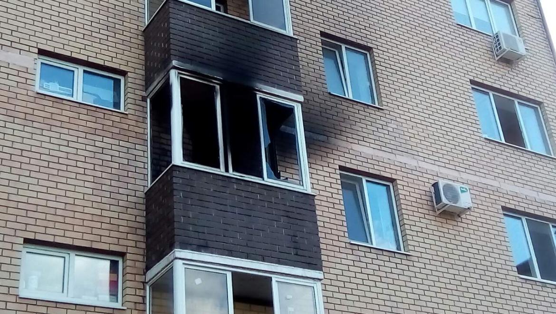 На пожаре в Оренбурге спасены 7 человек