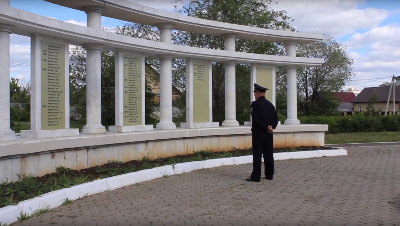 Cквер в честь сотрудника оренбургского СОБРа Виктора Самохина