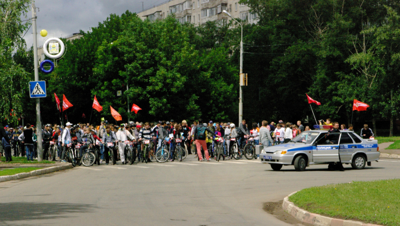 День 1000 велосипедистов в Оренбурге. 2018 год