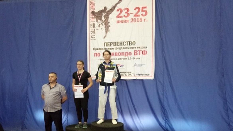 Юные спортсменки из Оренбурга завоевали призовые медали