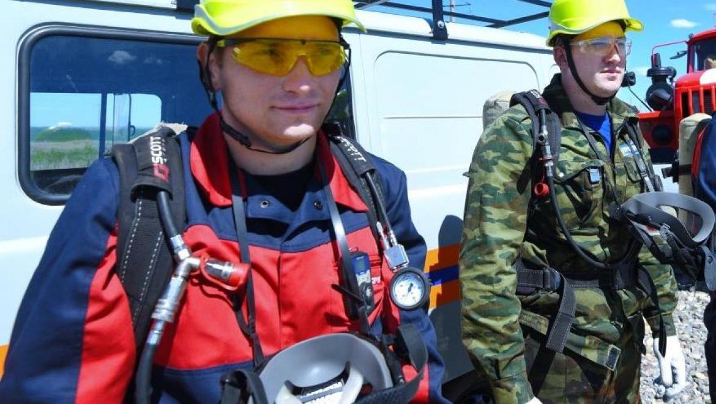 На Восточном участке Оренбургского месторождения прошли новые учения