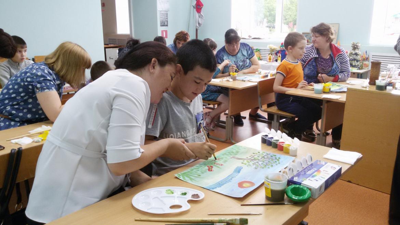 Клуб для детей-инвалидов и их родителей