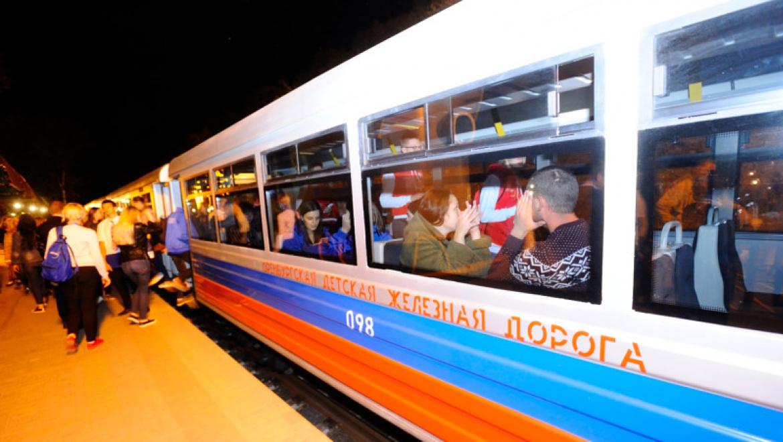 Оренбургская детская железная дорога  принимала гостей с форума «Евразия»