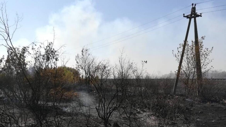 В Оренбурге сохраняется чрезвычайная пожарная опасность