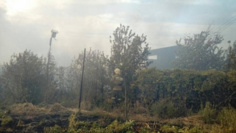Сентябрьские пожары под Оренбургом
