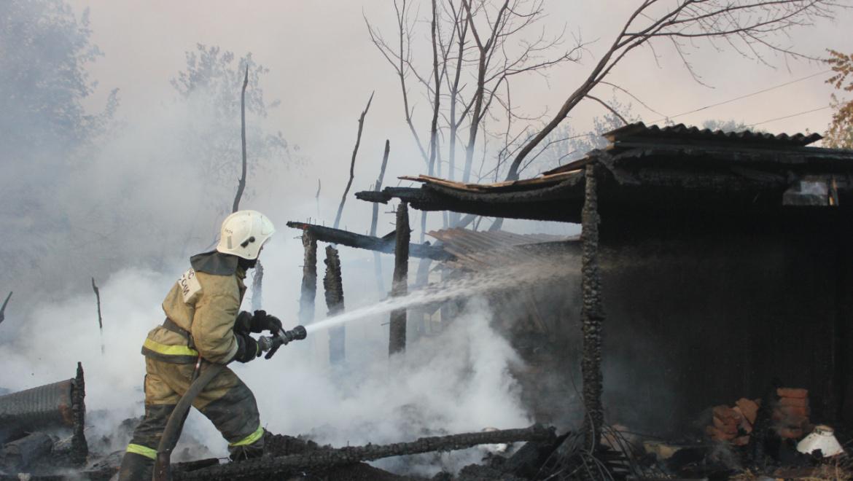 Пожары в Оренбуржье 19 сентября 2018