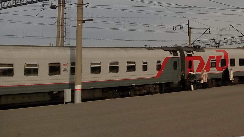 Дополнительный поезд сообщением Оренбург – Москва в ноябре