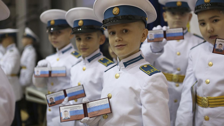 День в музее ИЗО для российских кадет