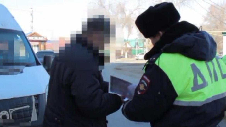 Поиск нелегальных перевозчиков в Соль-Илецке