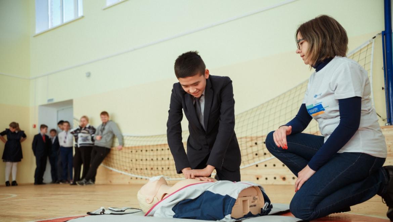 Волонтеры «Газпромнефть-Оренбурга» провели уроки безопасности