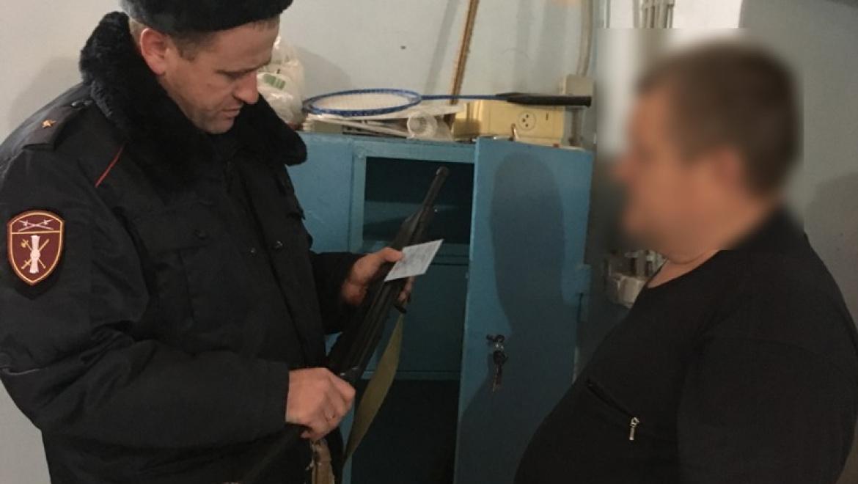 В Оренбуржье подвели итоги операции «Оружие»