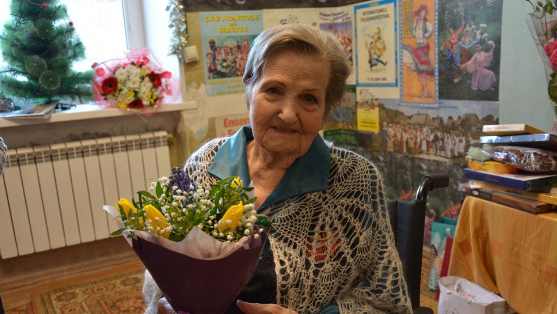 Участнице Великой Отечественной войны исполнилось 95 лет