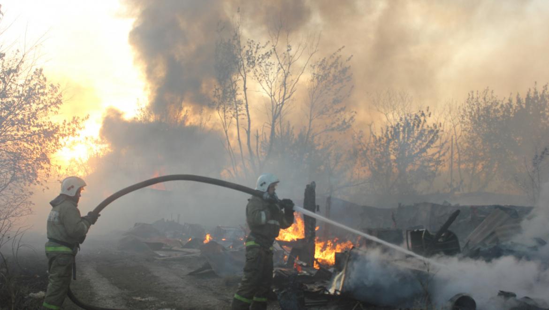 49 пожаров в Оренбургской области за 5 дней нового года