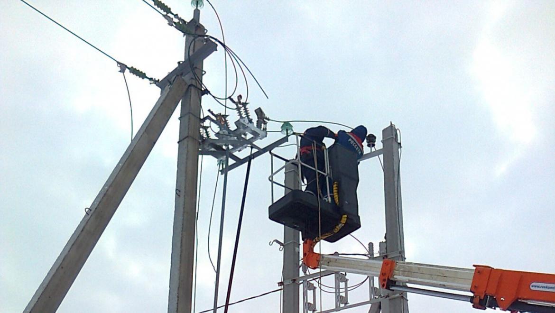Отключение электроэнергии 21 января 2019 года
