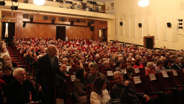 Юбилейный вечер Надежды Кондаковой прошел в Центральном Доме Литераторов