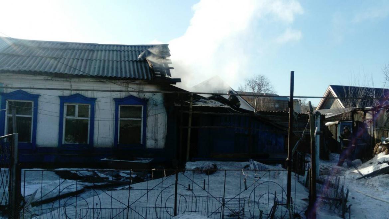 Пожары в Оренбуржье 4 февраля 2019