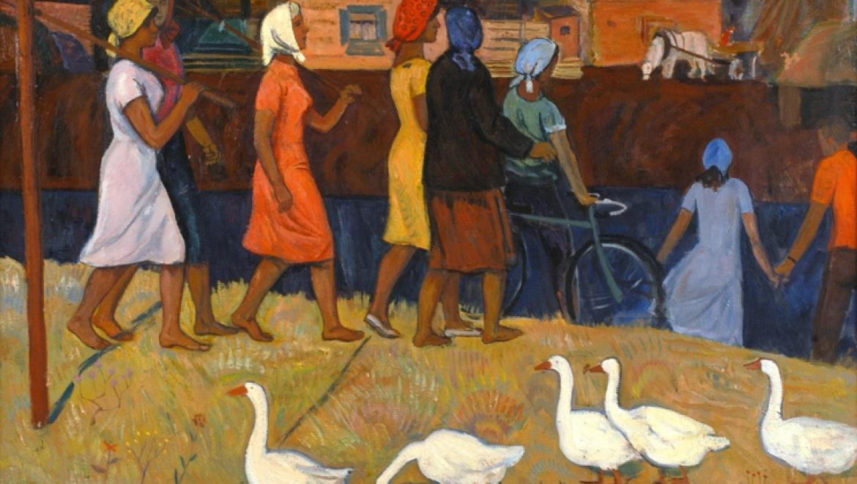 Выставка левкасной живописи Виктора Ни
