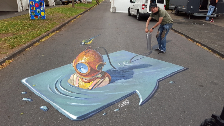 Объявлен конкурс уличных художников Оренбургской области