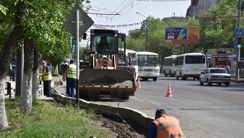 Дорожные работы 22 мая в Оренбурге