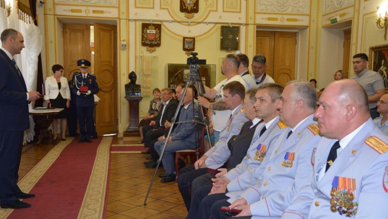 Сотрудник ДПС Оренбурга награжден орденом Мужества