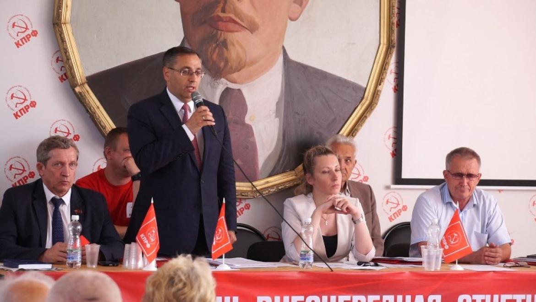 От КПРФ Оренбургской области на пост губернатора выдвинут Максим Амелин