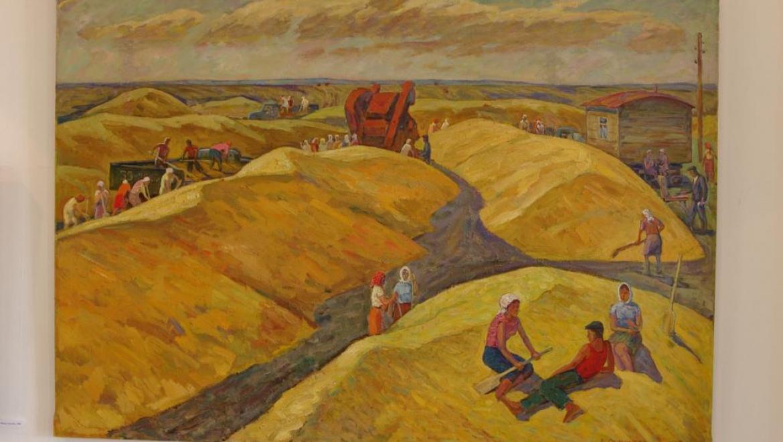 Открытие выставки А.И.Овчинникова