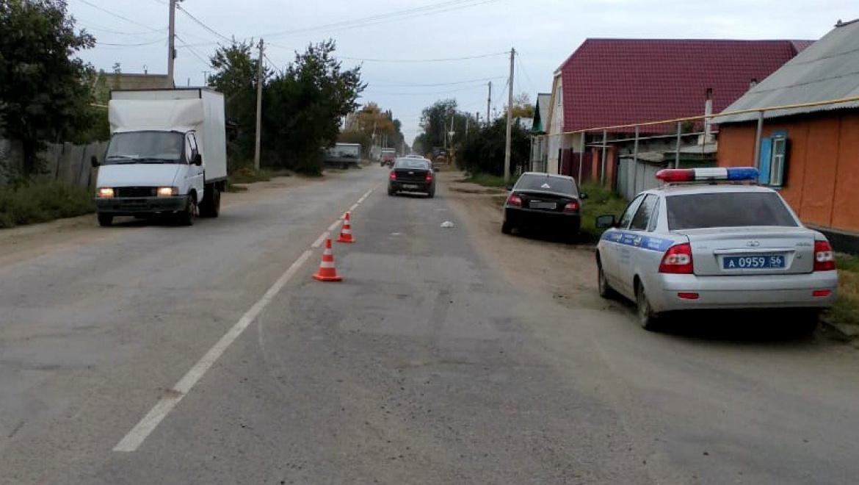 В Соль-Илецке автоледи сбила женщину с велосипедом