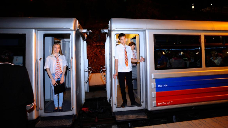 Детские железные дороги закрывают летний сезон