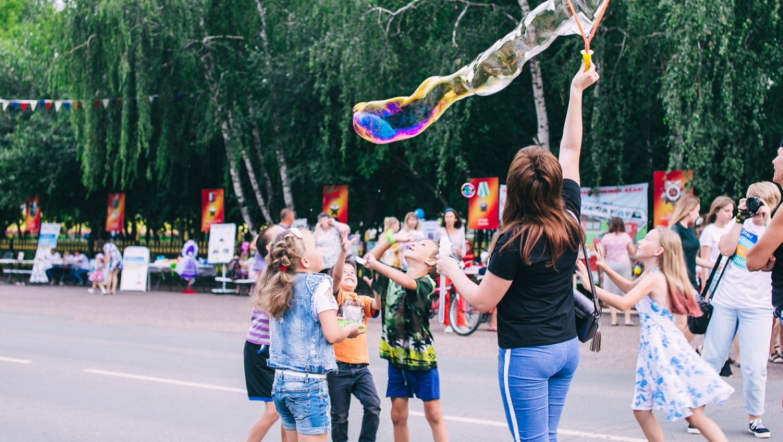 Фестиваль в Новосергиевке