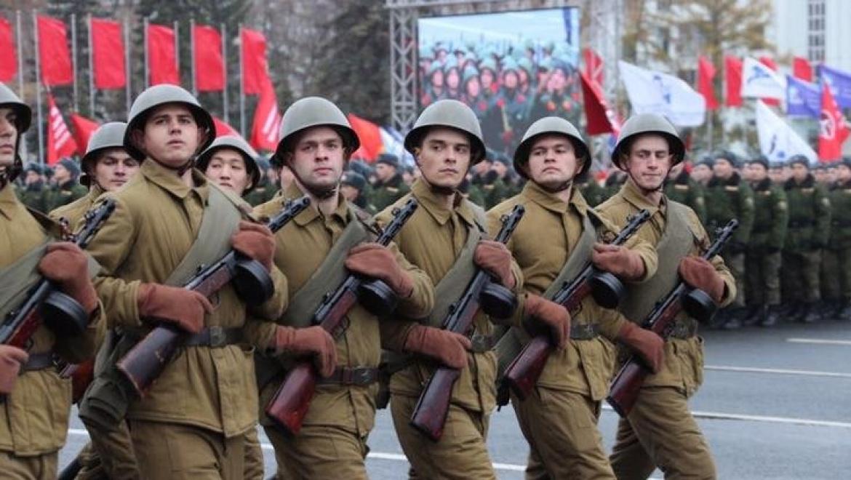 Оренбургские кадеты заняли второе место среди участников Парада Памяти в Самаре