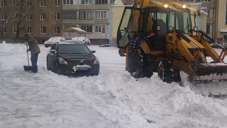 Круглосуточная уборка снега в Оренбурге