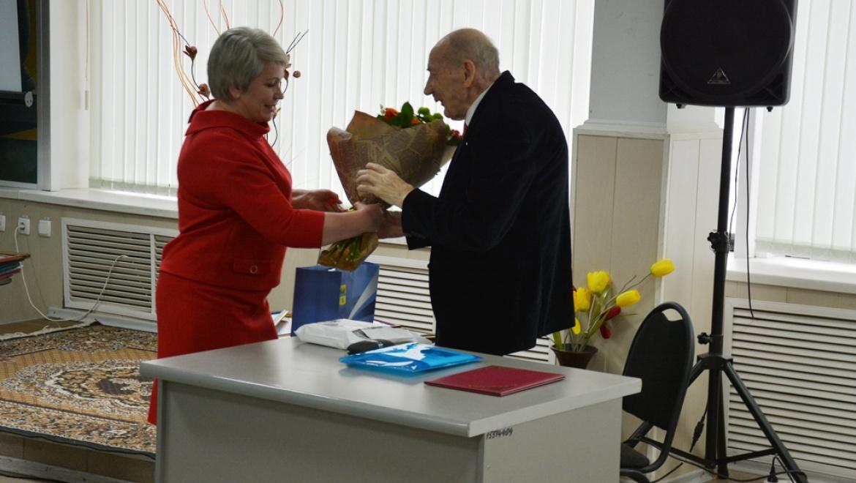 Почетный гражданин Оренбурга Олег Филиппович Балыков отметил 90-летие