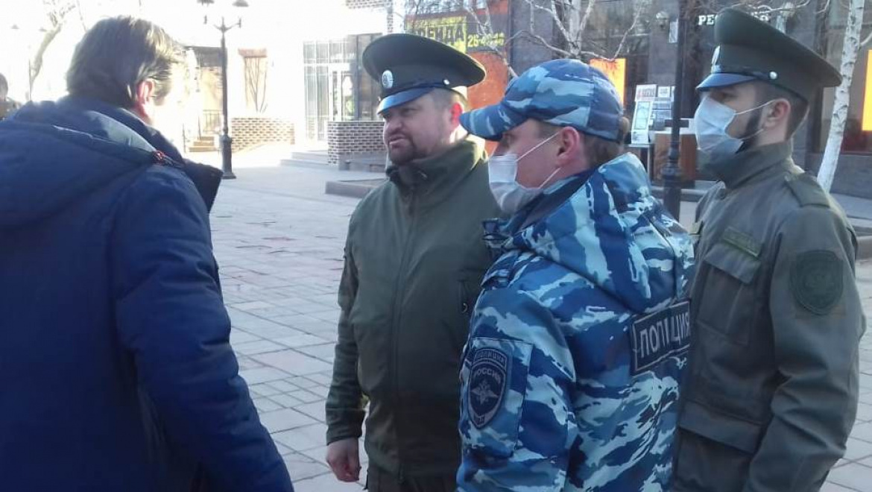 Оренбургские казаки будут контролировать самоизоляцию жителей