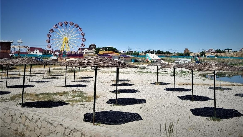 Курорт «Соленые озера» готовится к открытию