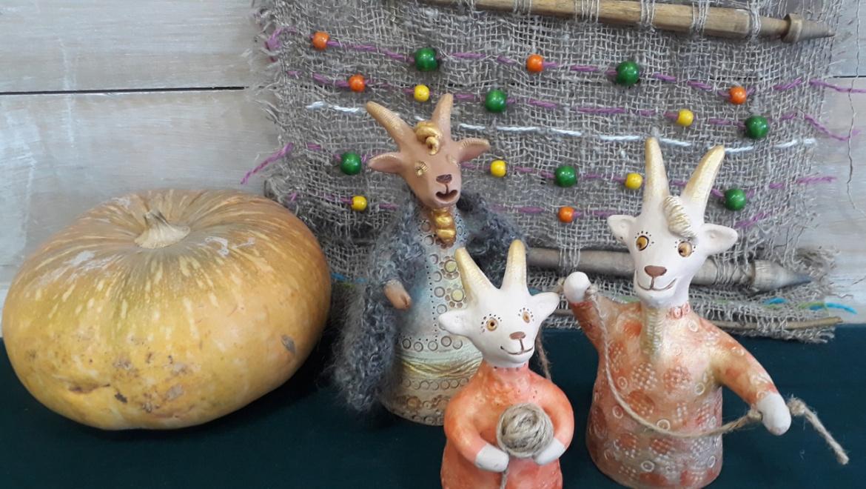 В Галерее открывается выставка «Козье царство»