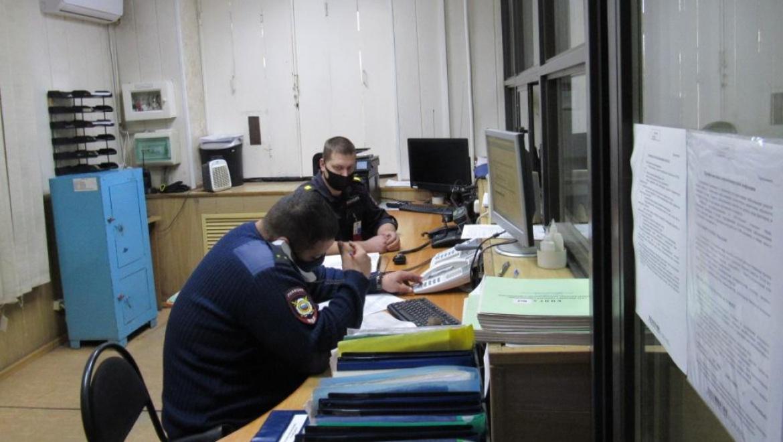 Председатель Общественного совета проверил отдел полиции № 4 МУ МВД России «Оренбургское»