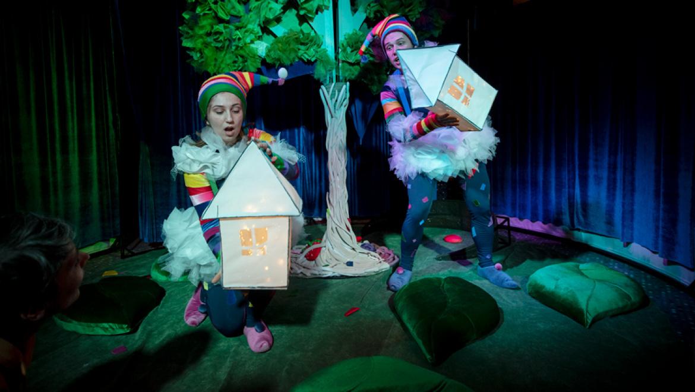 Долгожданная премьера Оренбургского театра кукол для самого маленького зрителя