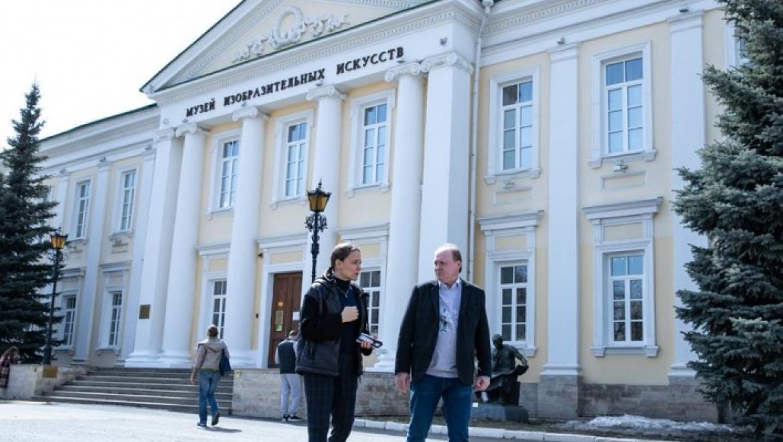 Рабочий визит Владимира Толстого в Оренбуржье