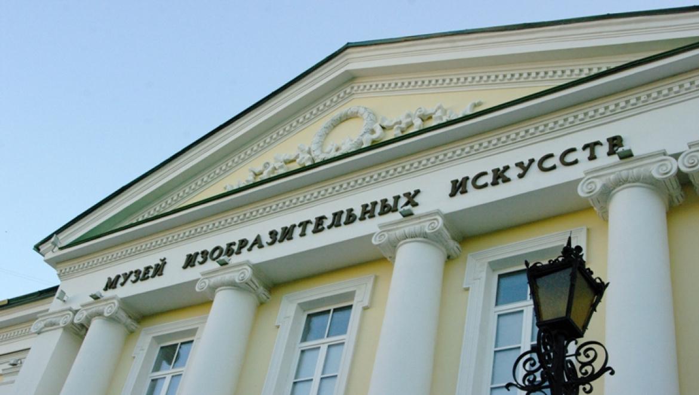 Картина июня в Оренбургском областном музее изобразительных искусств