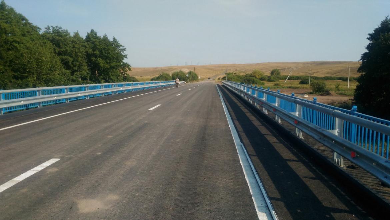Завершен ремонт двух мостов в Оренбуржье