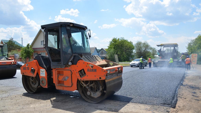 Ремонт дорог в Оренбурге продолжается