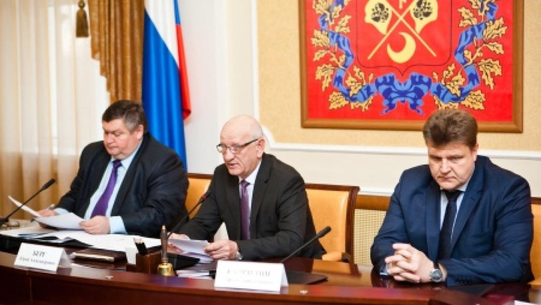 Заседание Правительства Оренбургской области
