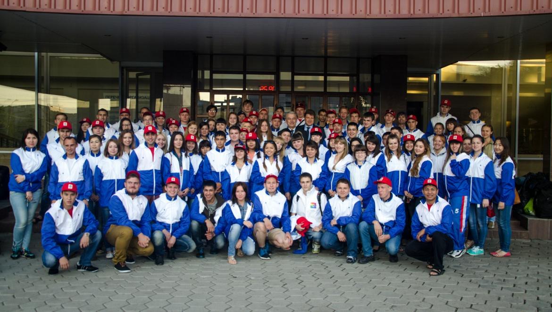 Молодежь Оренбуржья отправилась на «iВолгу-2014»