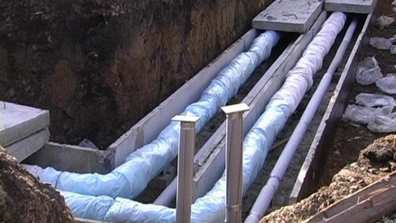 Перекладка тепловых сетей в районе проспекта Гагарина проводится без отключения горячей воды
