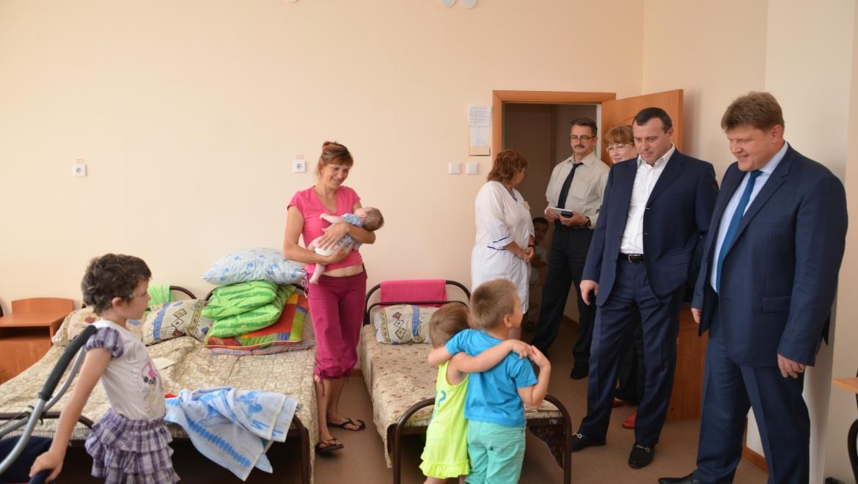 ГФИ побывал в пунктах временного размещения граждан Украины