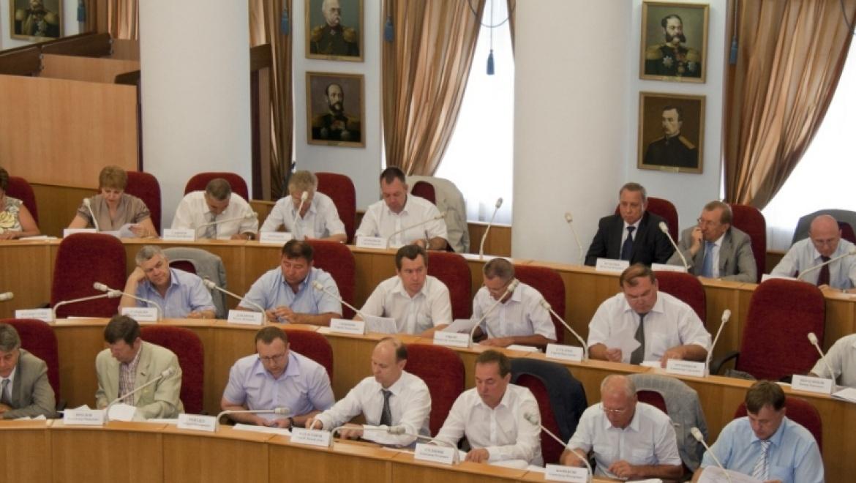 В Доме Советов прошла внеочередная сессия областного парламента
