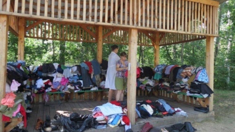 В центре для переселенцев «Янтарь» на 13 августа  осталось 175 человек
