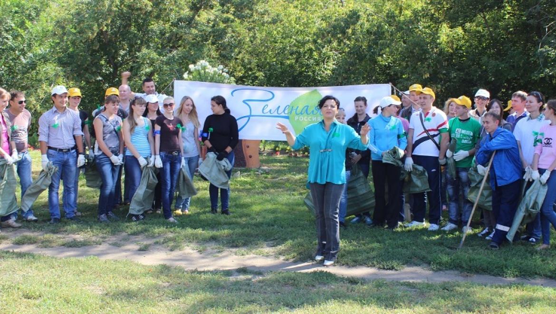 «Всероссийский экологический субботник – Зеленая Россия» 2014 года в Оренбурге