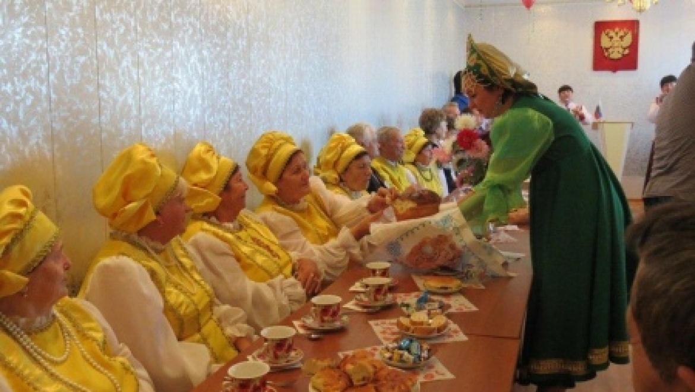 Домбаровцы отметили юбилей клуба «Золотой возраст»