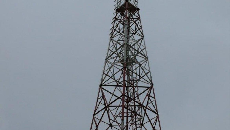 В Северных электрических сетях «Оренбургэнерго» начала работу новая радиомачта